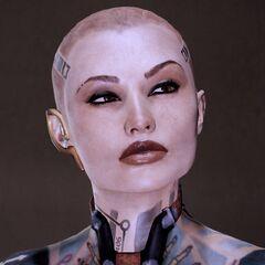 Джек в Mass Effect 2