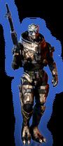 ME3 DLC Из пепла Облик Гарруса