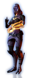ME3 Tali Basic Outfit