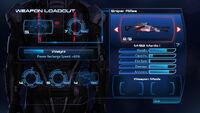 Mantis M-92 selección armas ME3
