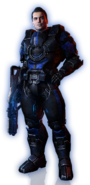 ME3 DLC З попілу Вигляд Кайдена