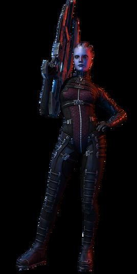 ME3 Asari Huntress