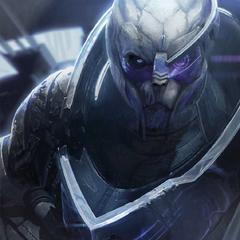 Портрет Гарруса из «Art of Mass Effect»