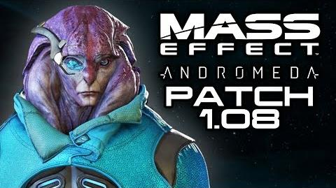 MASS EFFECT ANDROMEDA Patch 1.08 Changes! (Improved Character Creator and Male Jaal Romance)