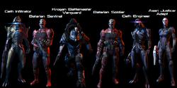 Resurgence Pack Charaktere
