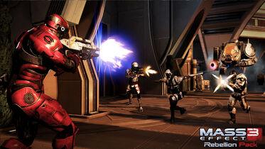 ME3 DLC Восстание 3