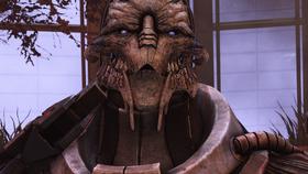 Citadel final battle - saren suicides