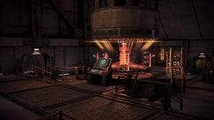 Омега, панель реактора