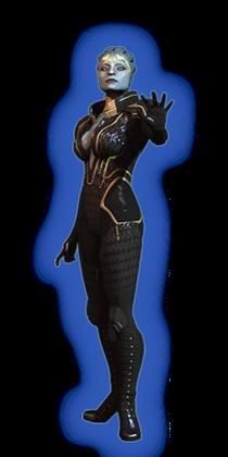 ME2 Samara Loyal Outfit
