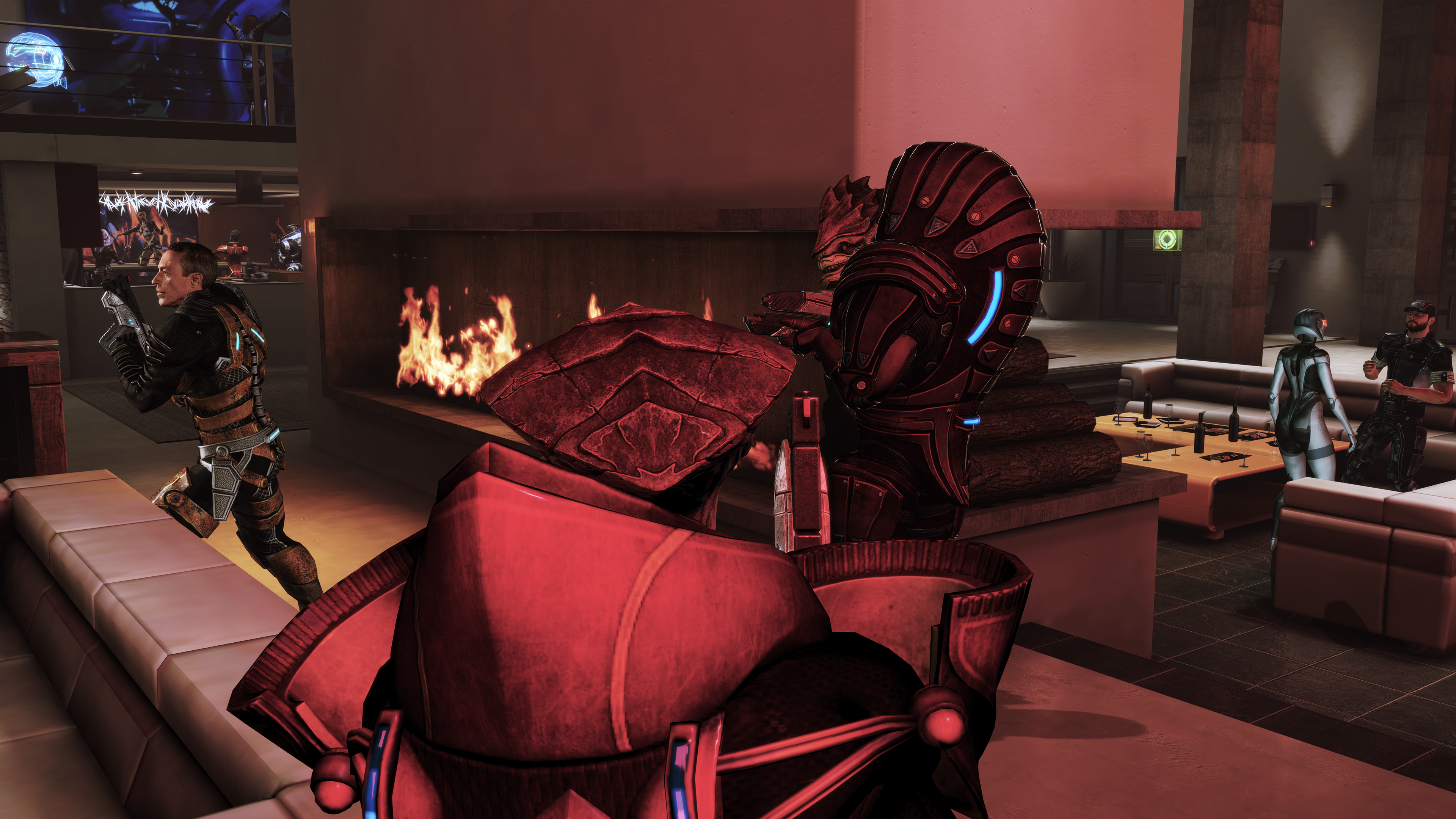 Mass effect 3 hook up with james
