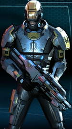 Infiltrator Armor MEI