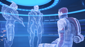Citadel Archives - year 2157 CE, First Contact War, turian interrogation, vault T91