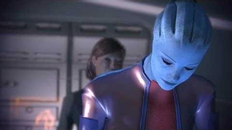 Mass Effect 2 DLC Courtier de l'ombre (FR)- Romance entre Shepard et Liara