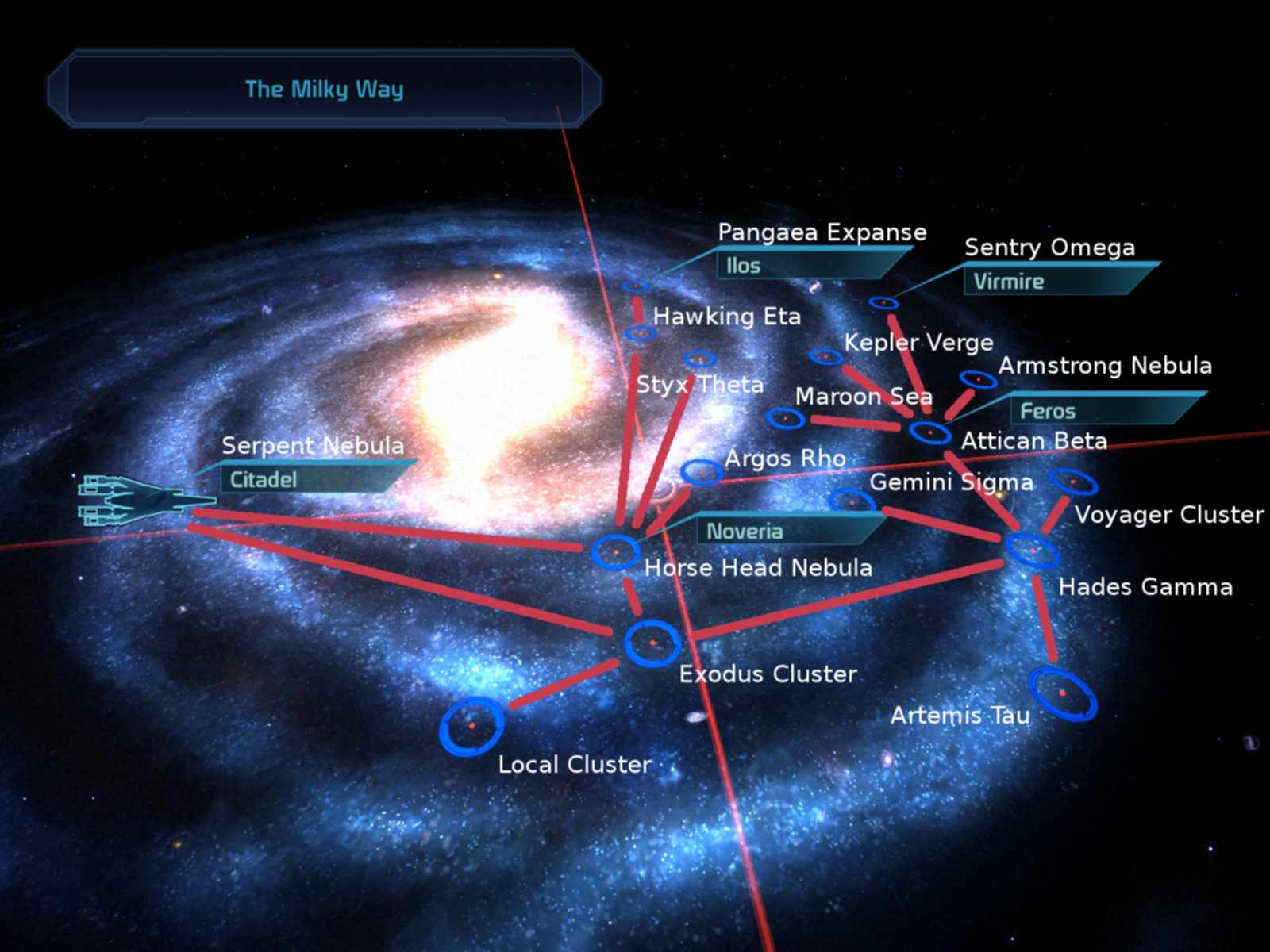 Mass Effect Andromeda Star Map.Milky Way Mass Effect Wiki Fandom Powered By Wikia