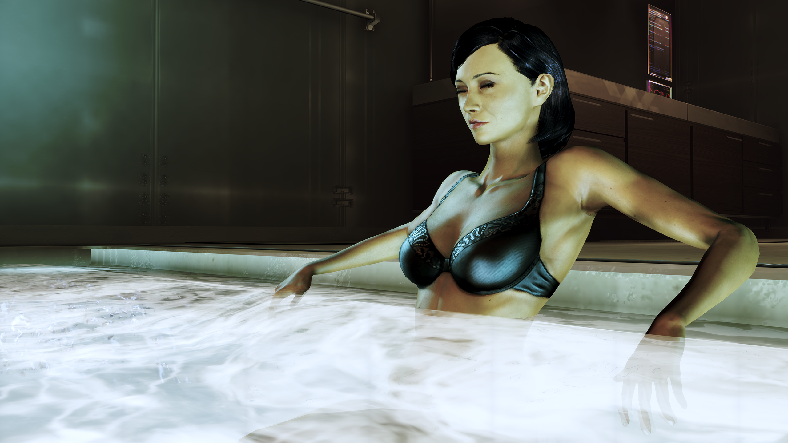 Mass Effect 3 lesbisk sex scene