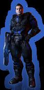 ME3 DLC Из пепла Облик Кайдена