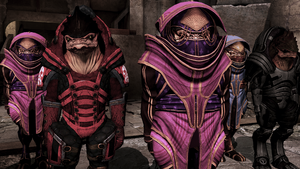 Krogan sexual dimorphism