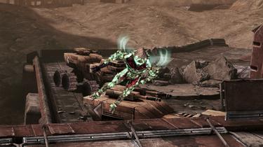 ME3 Пробуждённый коллекционер Прыжок-полет