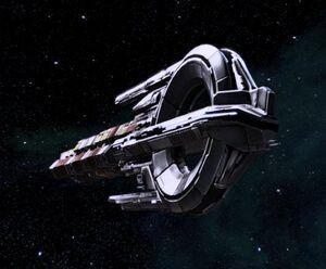 Statek wysłannika quarian
