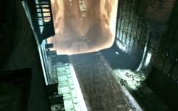 Ilos Eingang zu Vigils Kammer