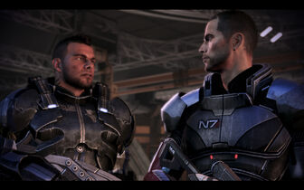 James vega and shepard by donabruja-d4wllxn