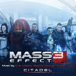 ME3 Citadel Soundtrack Cover