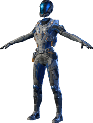 MEA Deep Space Explorer Armor Set