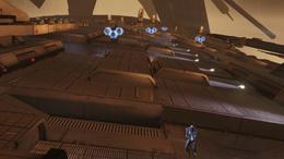 Citadel final battle - geth turrets