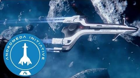 Andromeda Initiative Tempest and Nomad Briefing - Mass Effect Andromeda