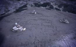 Luna-Basis ME1 Pic NES VI außer Kontrolle