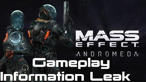 Marcus Tiberius/Утечка данных Mass Effect: Andromeda рассказала о новых деталях игрового процесса