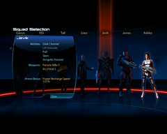 ME3 squad selection b
