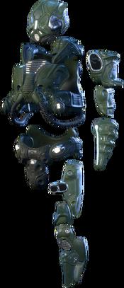MEA Kett Fusion Armor Set