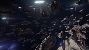 ME3 Galaktische Flotte