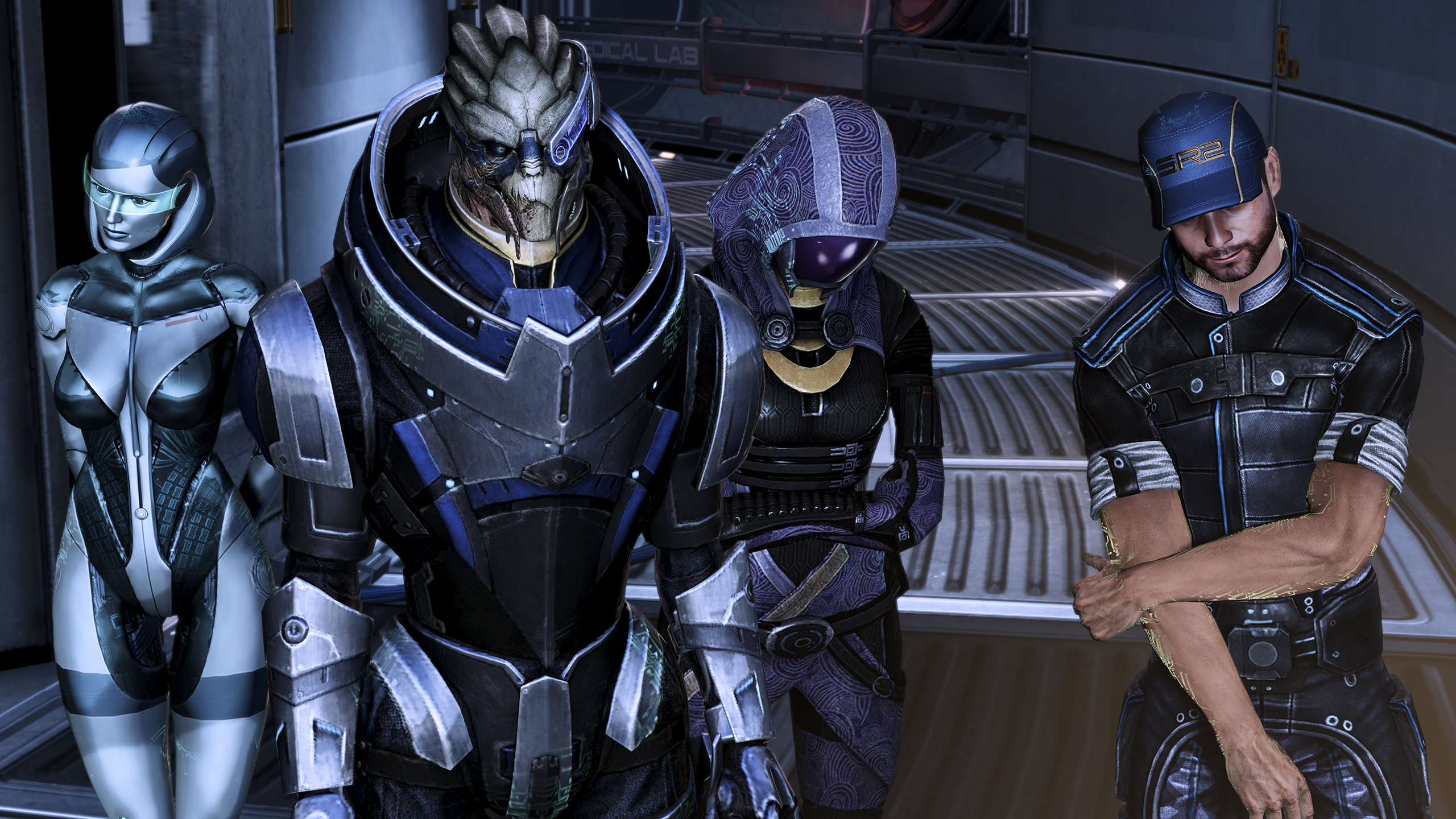 How Tall Is Garrus Vakarian