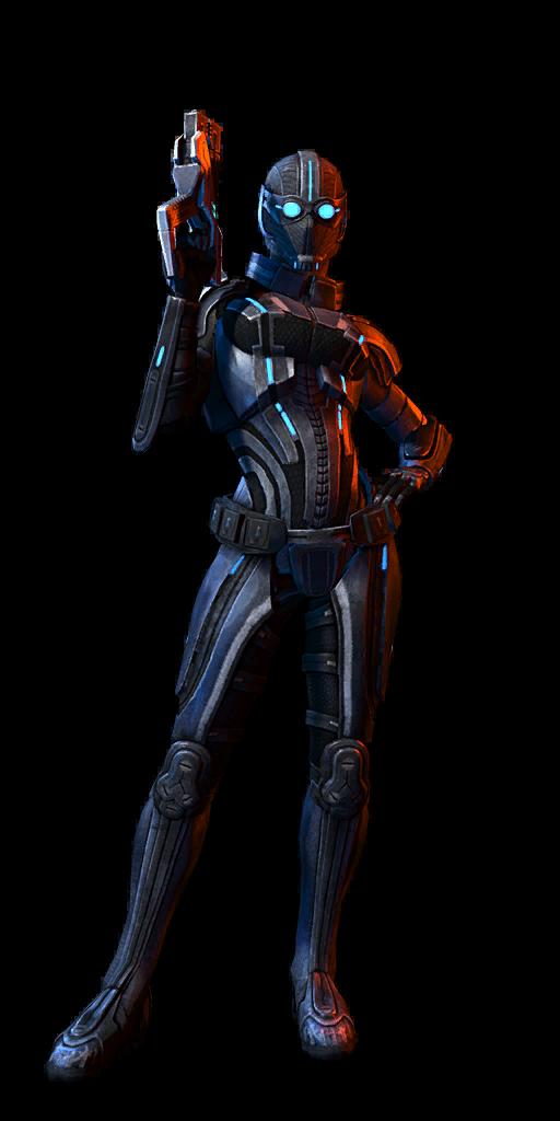 Human Female Sentinel MP