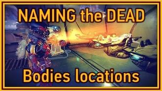 Mass Effect Andromeda - Naming the Dead task (bodies locations)