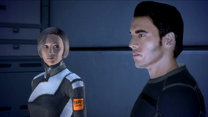 Chakwas and Kaidan Post Eden Prime