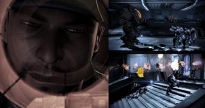 Jokers verrückte Geschichte im Citadel-DLC ME3 Pic