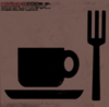 Кофе и вилка