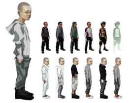 Child; early concept art