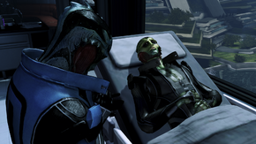 Thane on his deathbed