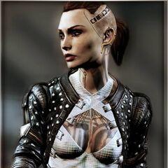 Джек в Mass Effect 3
