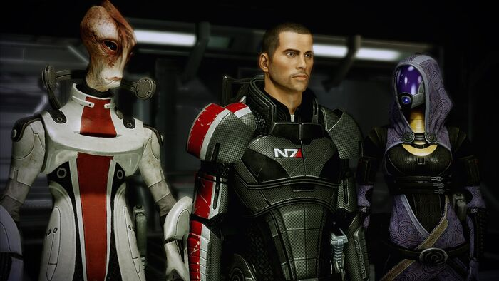 Для блога Mass Effect Remastered