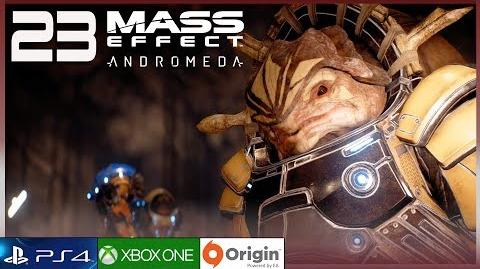 "MASS EFFECT ANDROMEDA Gameplay Español Parte 23 (PC Ultra 60FPS) Walkthrough ""Alianza Krogan"""