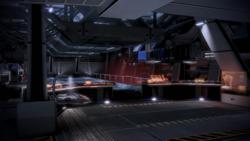 ME3 Shuttle Bucht