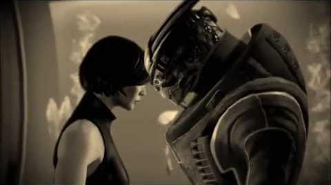 Mass Effect Shepard & Garrus - With or without you