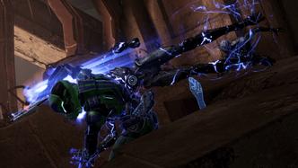 ME3 combat - epic flying grab