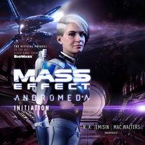 Mass Effect Andromeda Iniciación portada audiolibro inglés