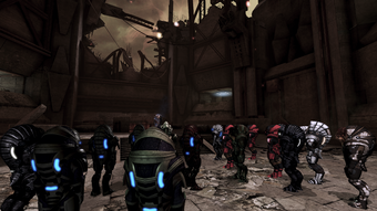 A meeting of krogan at the hollows
